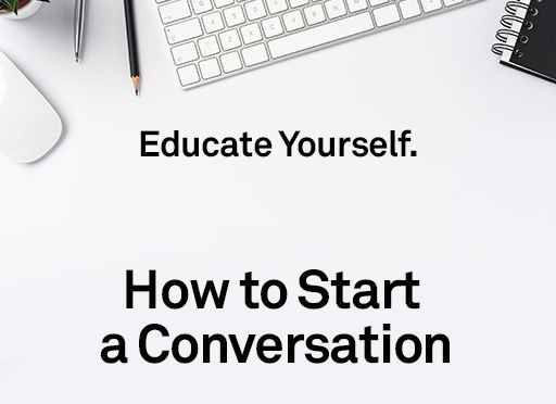 Image of: Educate Yourself: How to Start a Conversation
