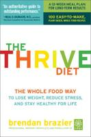Thrive Diet book summary