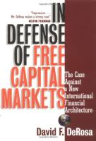 In Defense of Free Capital Markets book summary
