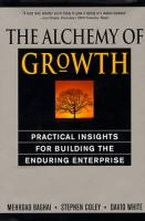 The Alchemy of Growth book summary