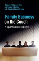 Family Business on the Couch book summary