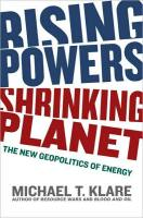 Rising Powers, Shrinking Planet book summary
