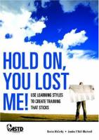 Hold On, You Lost Me! book summary