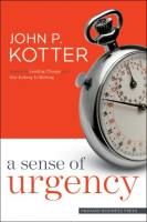 A Sense of Urgency book summary