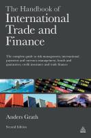 The Handbook of International Trade and Finance
