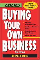 Buying Your Own Business