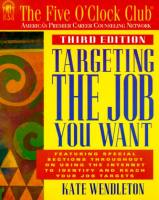 Targeting the Job You Want book summary