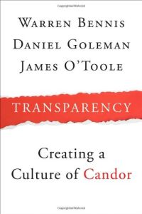 Transparency book summary