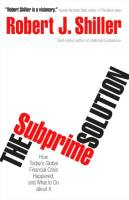 The Subprime Solution book summary