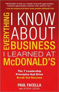 Everything I Know About Business I Learned at McDonald's book summary