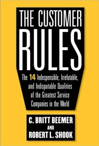 The Customer Rules book summary