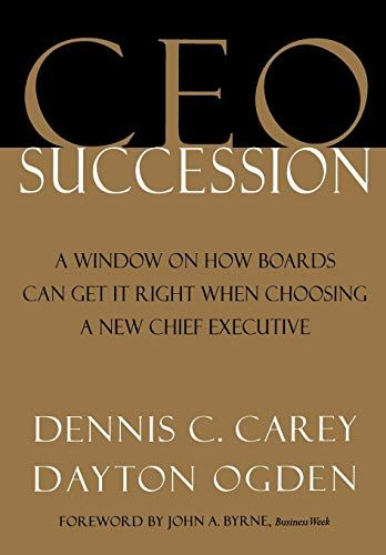 Image of: CEO Succession