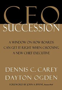 CEO Succession