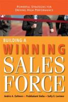 Building a Winning Sales Force book summary