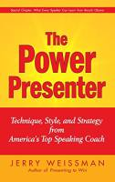 The Power Presenter book summary