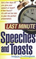 Last Minute Speeches and Toasts book summary