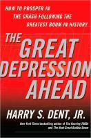 The Great Depression Ahead book summary