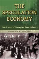 The Speculation Economy book summary