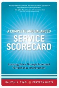 A Complete and Balanced Service Scorecard book summary