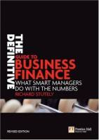 The Definitive Guide to Business Finance book summary