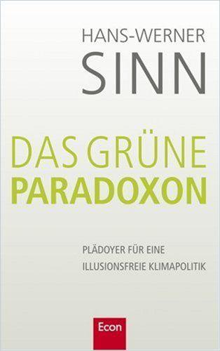 Image of: Das grüne Paradoxon