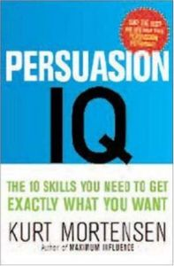 Persuasion IQ book summary