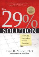 The 29% Solution book summary