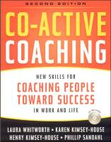 El coaching co-activo resumen de libro