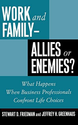 Image of: Work and Family - Allies or Enemies?