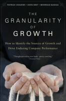 The Granularity of Growth book summary