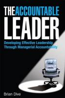 The Accountable Leader
