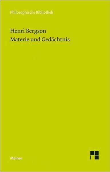 Image of: Materie und Gedächtnis