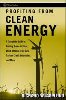 Profiting from Clean Energy book summary