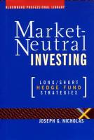 Market-Neutral Investing book summary