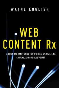Web Content Rx book summary