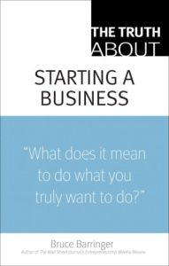 The Truth About Starting a Business  book summary
