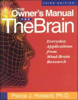 The Owner's Manual for the Brain book summary
