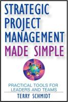 Strategic Project Management Made Simple book summary