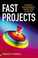 Fast Projects book summary