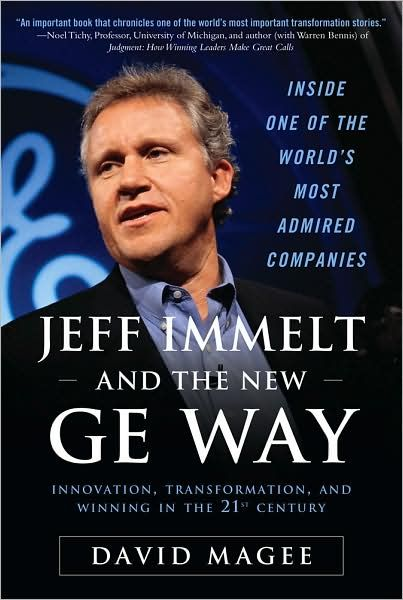 Image of: Jeff Immelt and the New GE Way