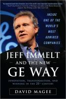 Jeff Immelt and the New GE Way book summary