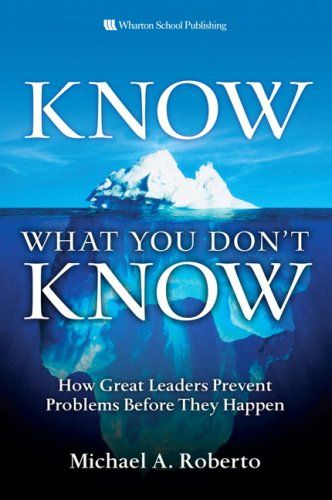 Image of: Know What You Don't Know