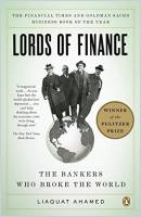Lords of Finance book summary