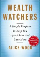 Wealth Watchers book summary