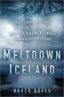 Meltdown Iceland book summary