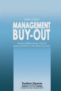 Management Buy-out Buchzusammenfassung