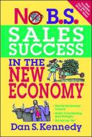No B.S. Sales Success in the New Economy book summary