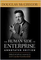 Книга | Человеческая сторона предприятия | Дуглас Макгрегор