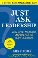 Just Ask Leadership book summary