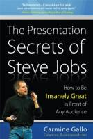The Presentation Secrets of Steve Jobs book summary